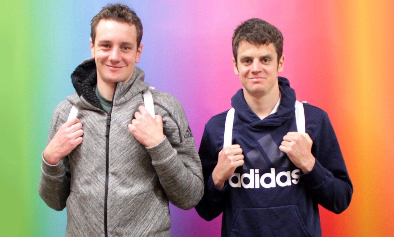 Alistair and Jonny Brownlee - edited